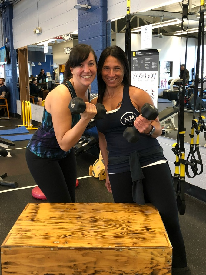 Personal Training session with Elena Picarelli