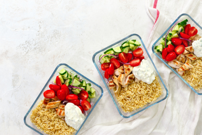 Investing in the right containers is important for meal prep!