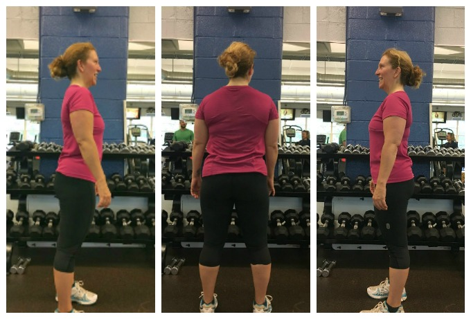 Before Pictures - Body Transformation Challenge with Personal Trainer Elena Picarelli