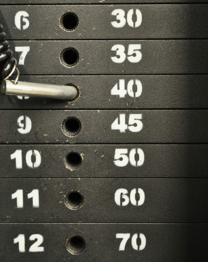 In order for muscle to grow, strength to be gained, or performance to increase using progressive overload, you can start with something simple such as  changing the weights or reps.  Each workout focus on EITHER increasing the number of repetitions you are aiming for OR increasing the weight with proper form.  Continuous repetition of the same exact weight will no longer help your body improve.