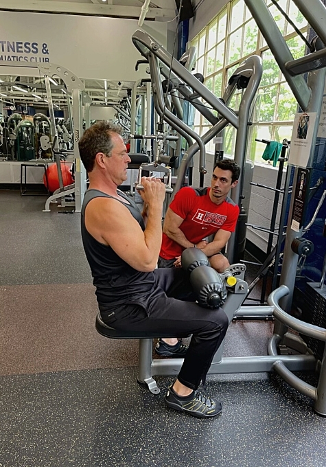 It's important for a Personal Trainer to watch form as their clients perform their workouts, allowing them to make adjustments to prevent any injuries.